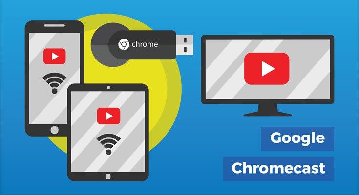 Google Chromecast voor verschillende apparaten